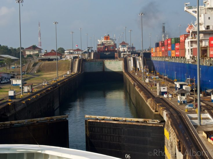Crossing the Panama Canal