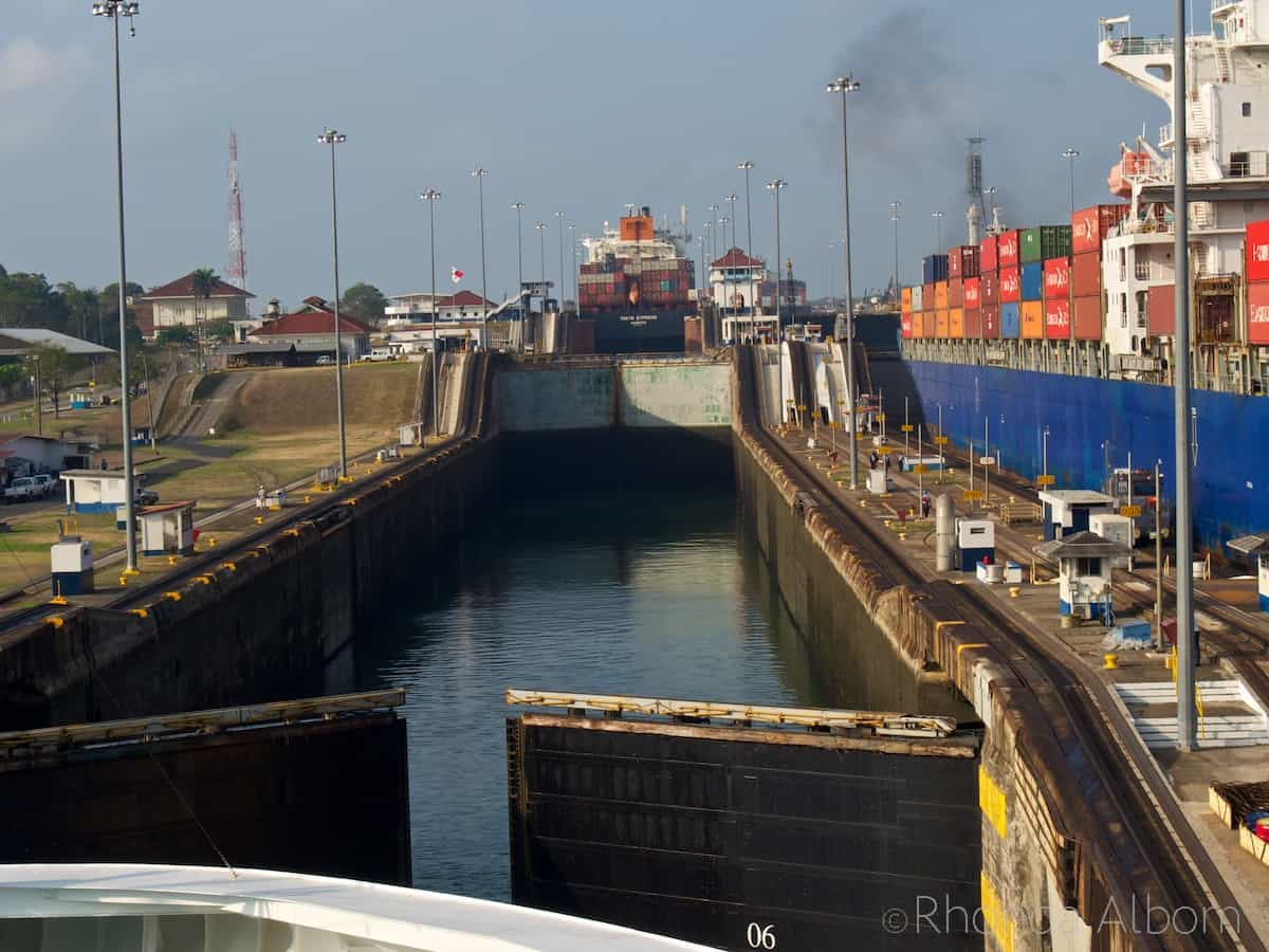 Gatun Locks of the Panama Canal