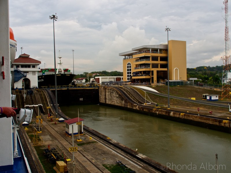 Miraflores Locks and the Panama Canal visitors center