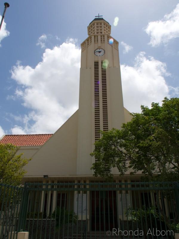 Church on the Caribbean Island of Aruba