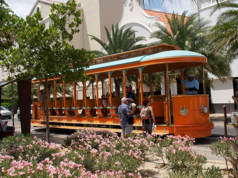 Street car on the Caribbean Island of Aruba