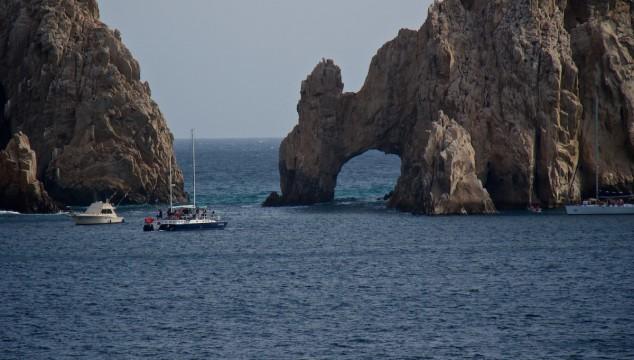 The arch in Cabo San Lucas Mexico