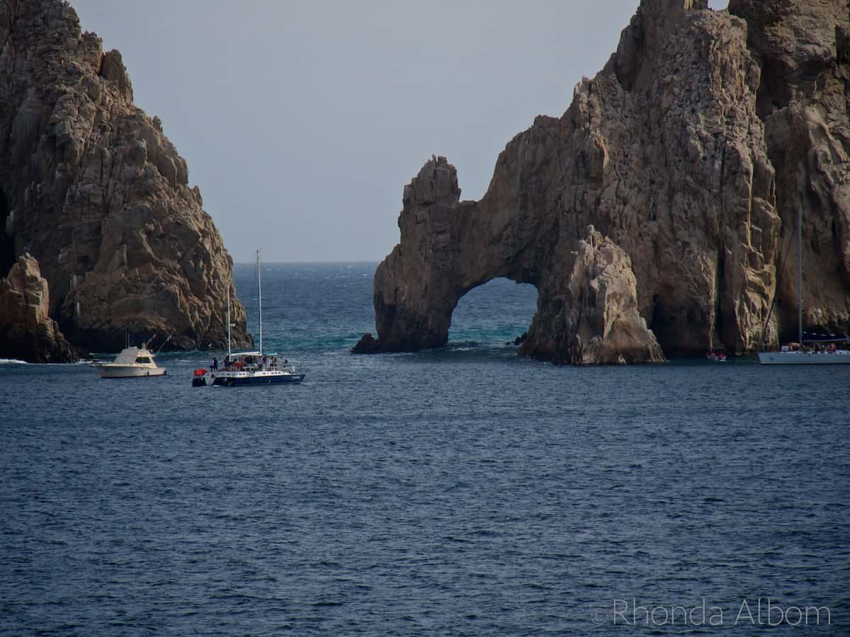 The arch in Cabo San Lucas Mexico