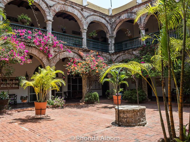La Popa is an active monestary in Cartagena Colombia
