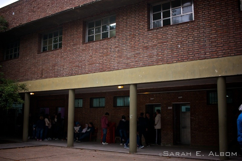 Public school in Argentina. Photo copyright ©Sarah Albom 2016