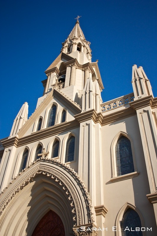 Basílica de Guadalupe, Santa Fe City, Argentina. Photo copyright ©Sarah Albom 2016