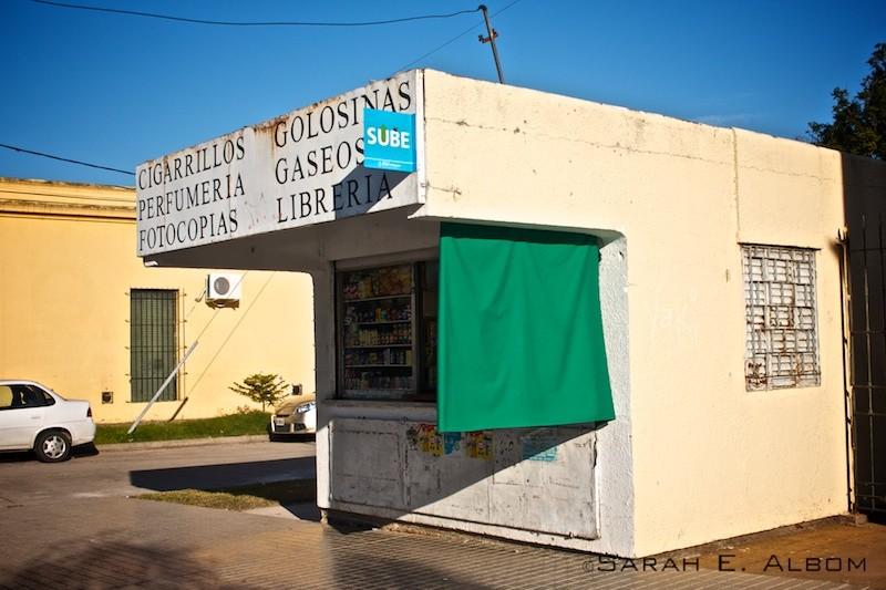 Kiosk in Santa Fe, Argentina. Photo copyright ©Sarah Albom 2016