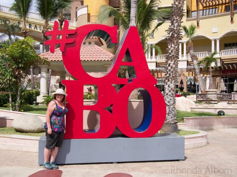 Cabo San Lucas sign.