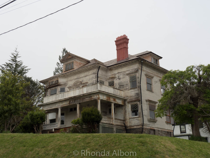 Old house in Astoria Oregon