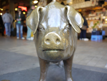 Rachel the Piggy Bank at Pike Place Market