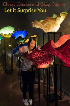Be surprised at Chihuly Garden and Glass