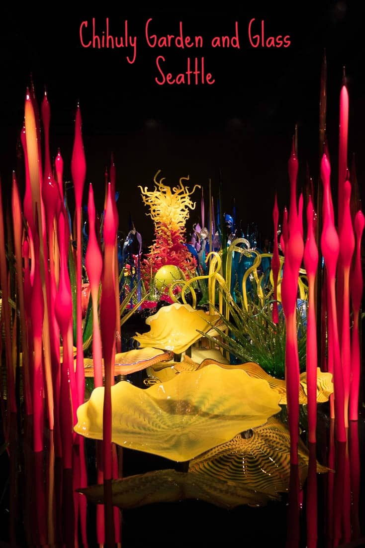 Be surprised at Chihuly Garden and Glass in Seattle, USA