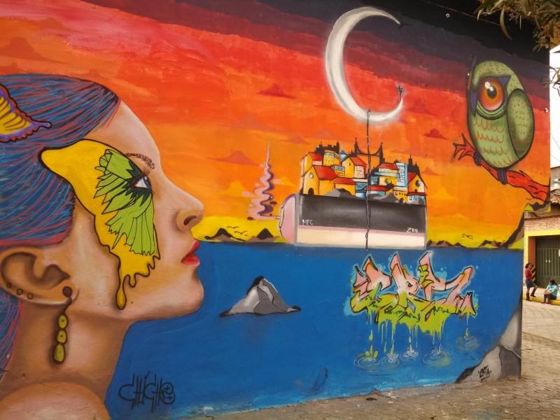 Street Art in Cuenca Ecuador