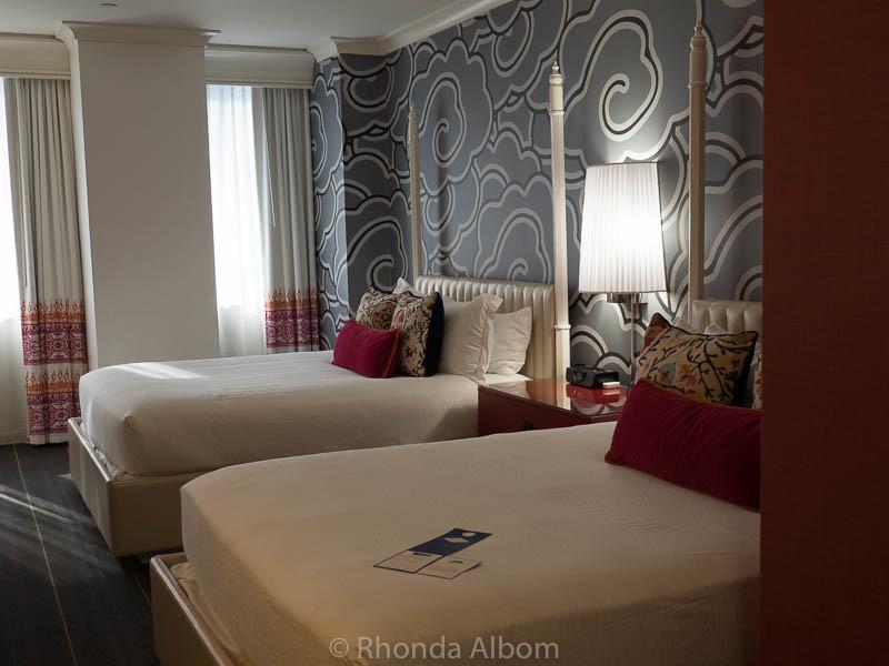 Premium Queen room at a Kimpton Seattle hotel