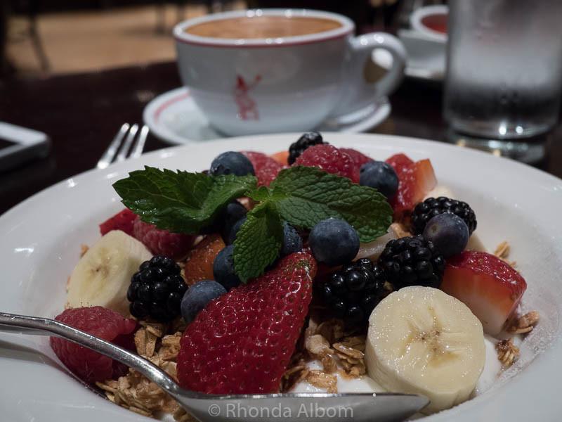 Breakfast at Outlier restaurant in Seattle Washington