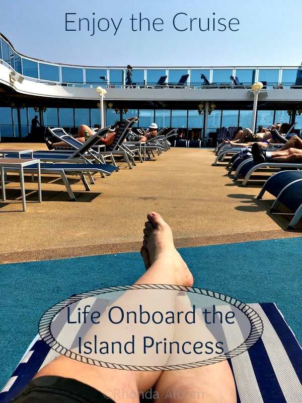 Life onboard a Princess Cruise