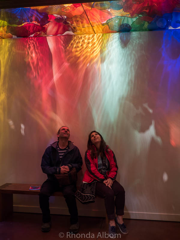 The Persian Ceiling at Chihuly Garden and Glass, Seattle Washington