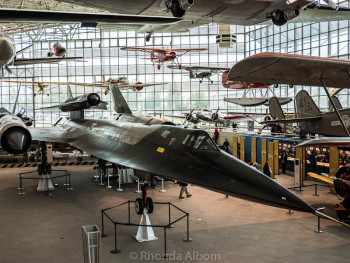 A Blackbird at the Museum of Flight in Seattle