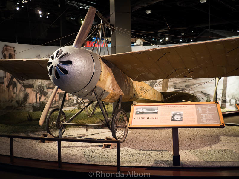 The world's first fighter plane