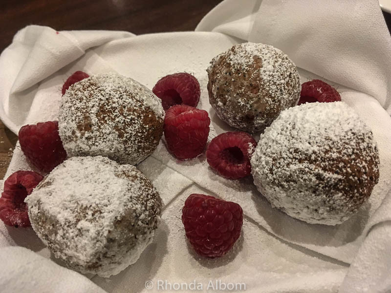 Zeppole at Pazzo, attached to Hotel Vintage in Portland