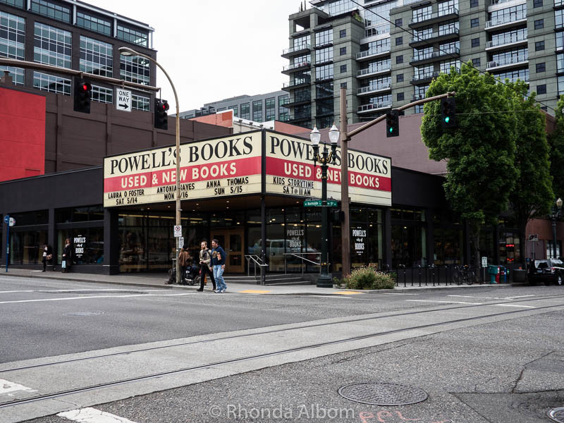 Powell Books an Icon in Portland Oregon