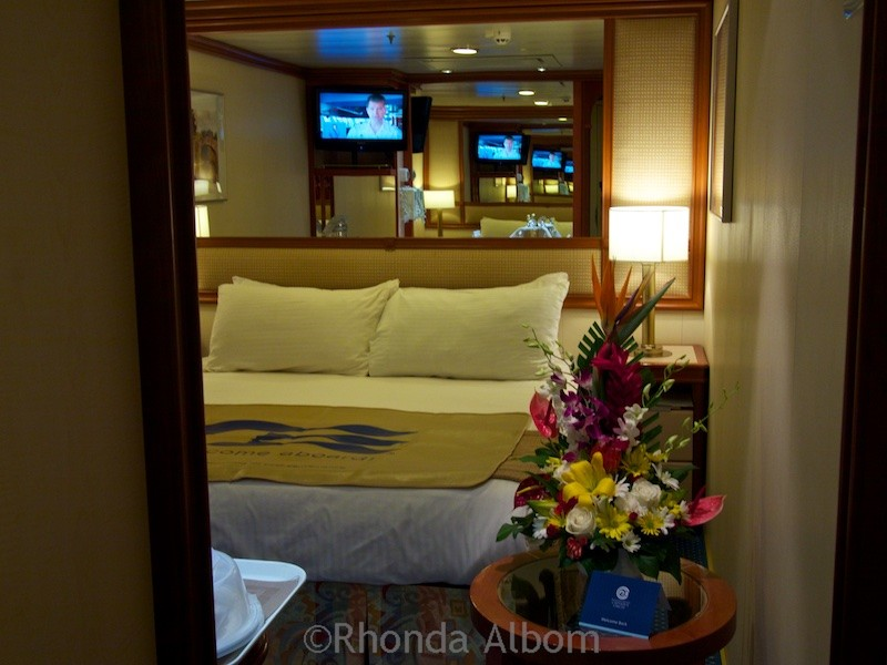 Our interior cabin on the Island Princess