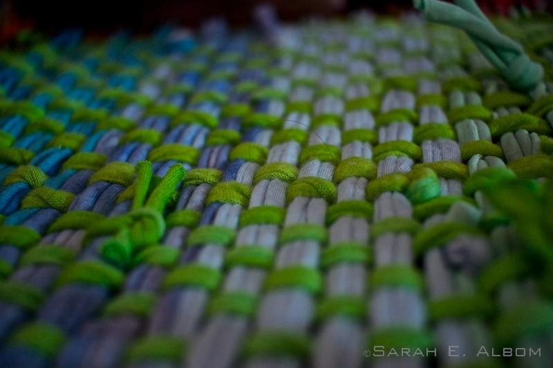 Weaving in La Redonda, Santa Fe, Argentina. Photo copyright ©Sarah Albom 2016