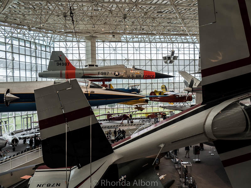 The Museum of Flight is one of our Seattle itinerary recommendations