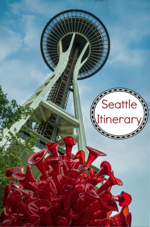 An itinerary for a weekend in Seattle Washington, USA.