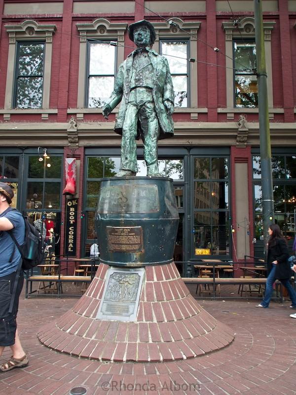 """John """"Gassy Jack"""" Deighton"""" is the namesake for Gastown in Vancouver"""