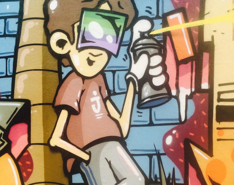 Street Art in Cairns Australia