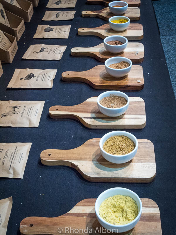 Spices at the Auckland Food Show 2017