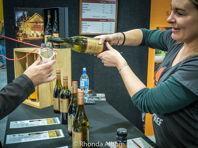Wine at the Auckland Food Show 2017