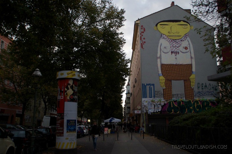 Street Art in Berlin Germany