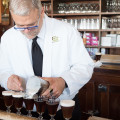Making an Irish Coffee at Buena Vista Cafe in San Francisco