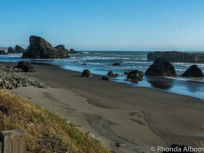 One of many Oregon beaches