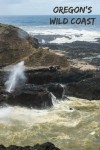 Spouting Horn at Cook's Chasm in Cape Perpetua along the Oregon coast in the USA