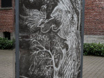 The Lovejoy Columns can be considered American Street Art