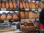 San Francisco's sourdough bread at Boudin Bakery