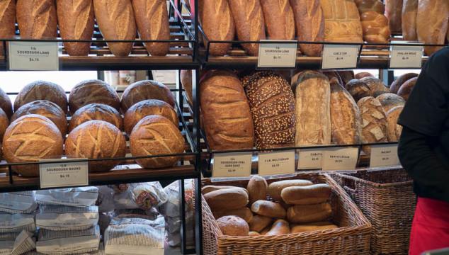 San Francisco's sourdough bread at Boudin Bakery