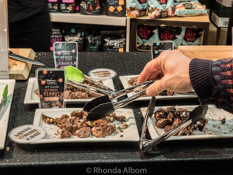 Chocolate at the food show in Auckland