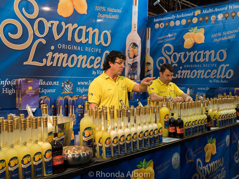 Limoncelo at the Auckland Food Show 2016
