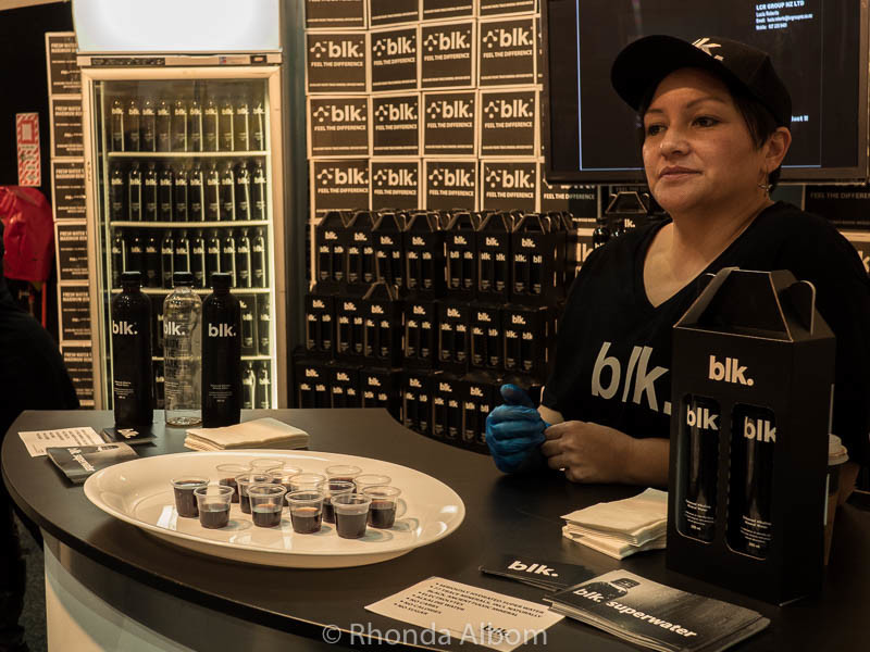 Black Water at the Auckland Food Show 2016