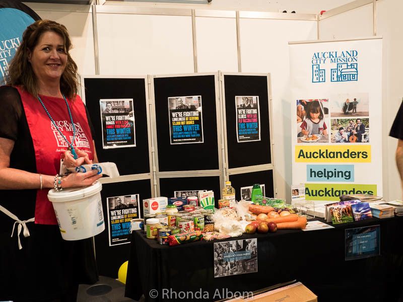 Auckland City Mission at Auckland Food Show 2016