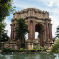 The Palace of Fine Arts in San Francisco California
