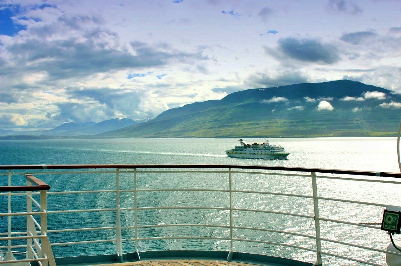 Cruising in Iceland is a unique way to travel. Public domain photo by Dieter55
