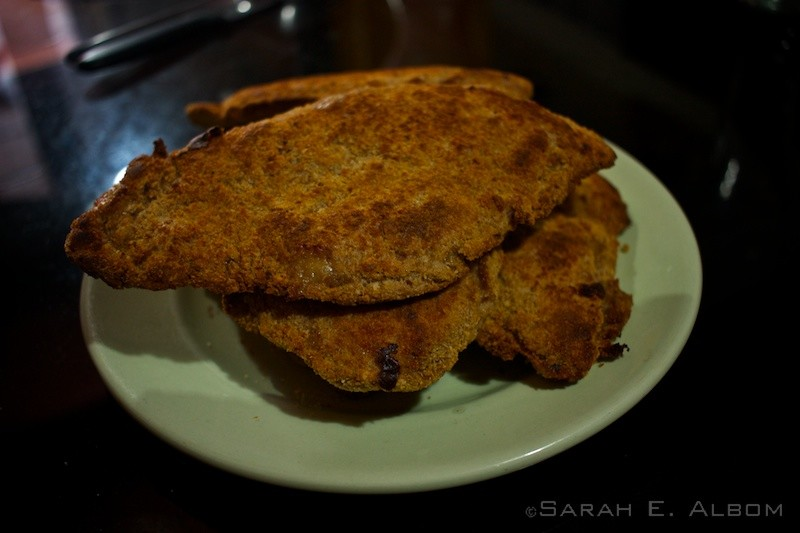 A Traditional Argentinian Food - Milanesas. Photo copyright ©Sarah Albom 2016