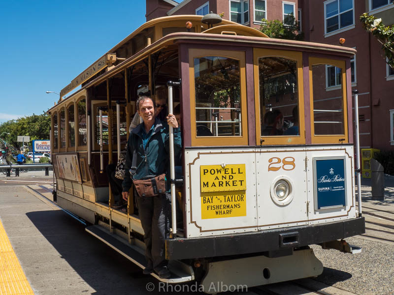 San Francisco Cable Car. (included in the San Francisco City Pass)