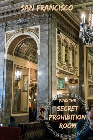 Secret Prohibition Room In Sir Francis Drake Hotel San