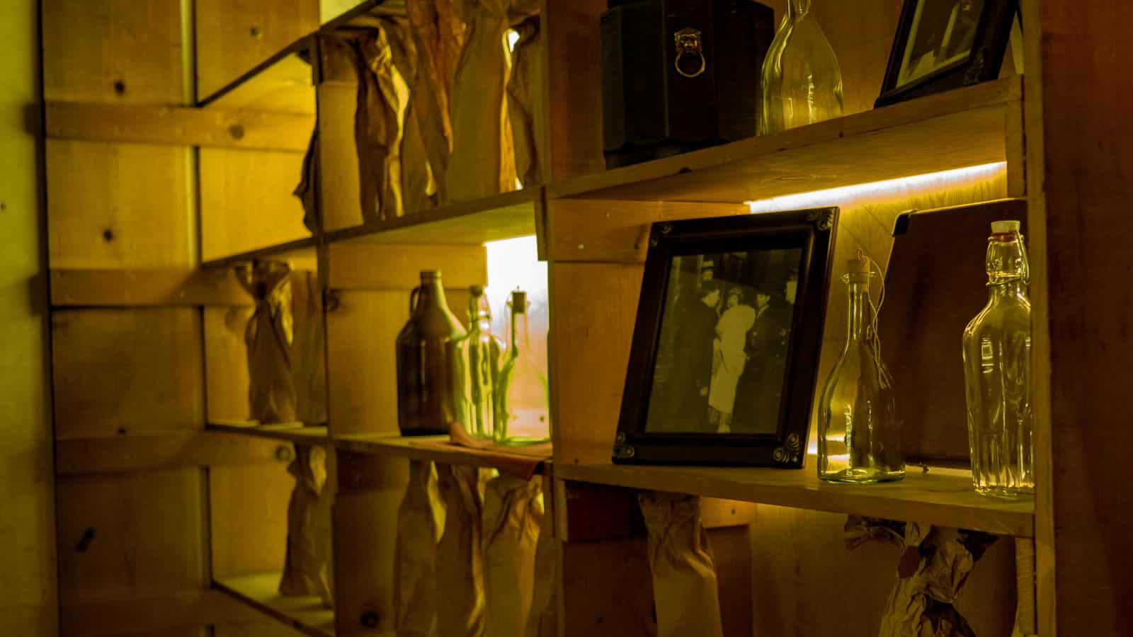 Secret prohibition room in Sir Francis Drake Hotel in San Francisco